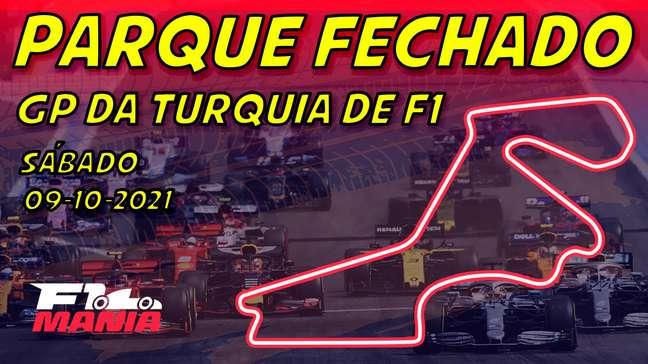 Parque Fechado: grid de largada da F1 para o GP da Turquia