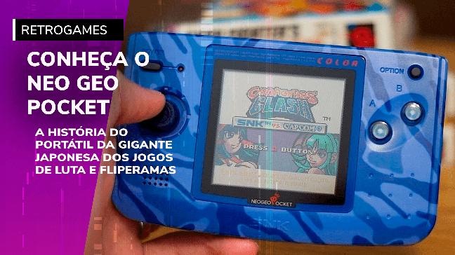 Neo Geo Pocket Color, o console portátil da SNK
