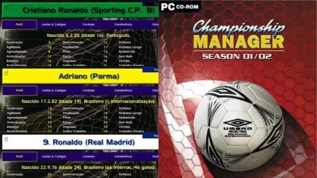 Championship Manager 01/02 completa 20 anos
