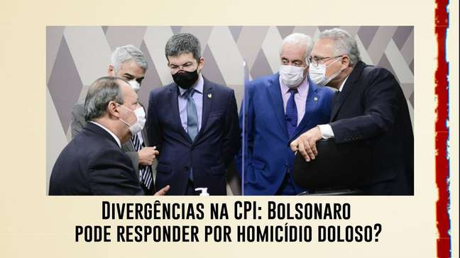 Divergências na CPI: Bolsonaro pode responder por homicídio doloso?