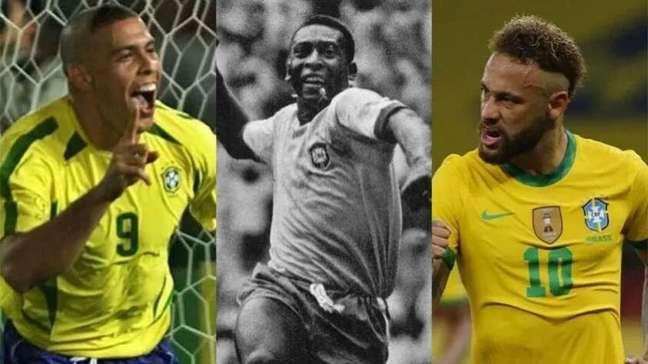 Veja quando craques da Seleção Brasileira jogaram seu último Mundial