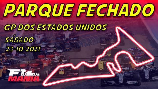 Parque Fechado: grid de largada da F1 para o GP dos EUA