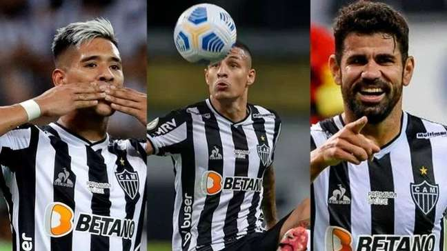Veja quais são os 20 jogadores mais valiosos do elenco do Atlético-MG