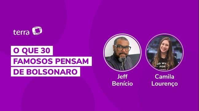 O que 30 famosos pensam de Bolsonaro