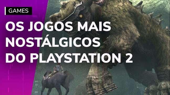 Relembre os jogos mais nostálgicos do PS2
