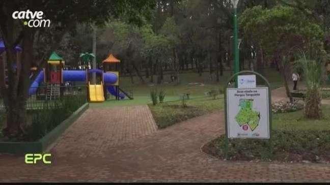 Parque Tarquínio é inaugurado nesta sexta-feira