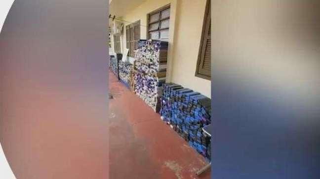 Polícia Militar apreende 1.760 quilos de maconha em Cafelândia