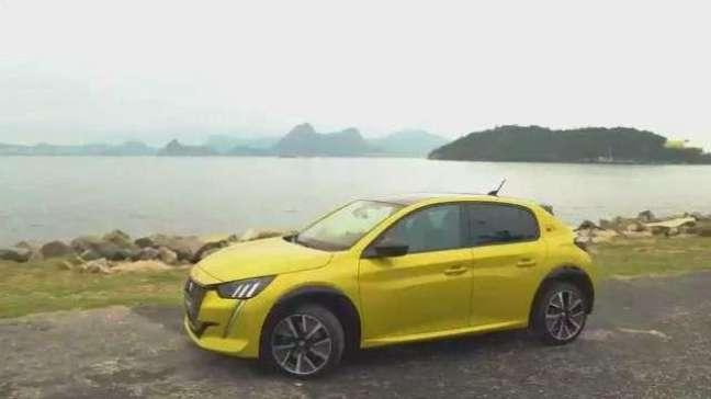 Veja o vídeo do Peugeot e-208 GT no Rio de Janeiro
