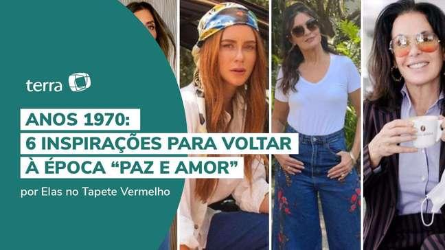 """Anos 1970: 6 inspirações para voltar à época """"paz e amor"""""""